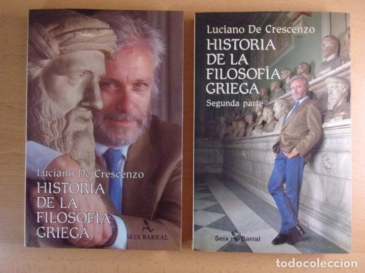 Historia De La Filosofía Griega Luciano De Cr Sold
