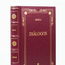 Libros de segunda mano: SÉNECA.– DIÁLOGOS. EDITORIAL GREDOS, BIBLIOTECA GREDOS, 2001. Lote 166544573