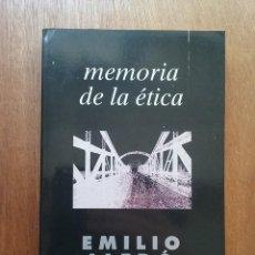 Libros de segunda mano: MEMORIA DE LA ETICA, EMILIO LLEDO, TAURUS, 1994. Lote 166544630