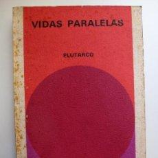 Libros de segunda mano: VIDAS PARALELAS. PLUTARCO. BIBLIOTECA GENERAL SALVAT. . Lote 167693244
