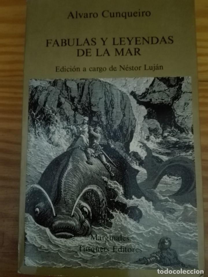 FÁBULAS Y LEYENDAS DE LA MAR ÁLVARO CUNQUEIRO (Libros de Segunda Mano - Pensamiento - Filosofía)
