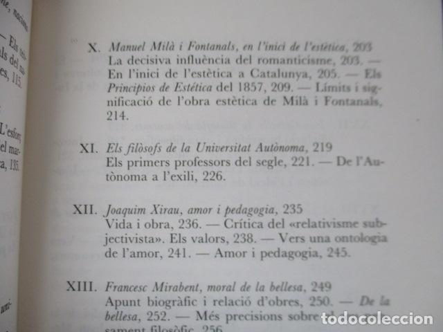 Libros de segunda mano: Filosofia contemporània a catalunya, de Norbert Bilbeny - Foto 12 - 168119876