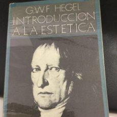 Libros de segunda mano: INTRODUCCIÓN A LA ESTÉTICA G.W.F HEGEL 1971. Lote 168442462