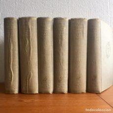 Libros de segunda mano: 1946 ORTEGA Y GASSET OBRAS COMPLETAS 1ª ED. 6 TOMOS REVISTA DE OCCIDENTE. Lote 169003209