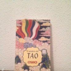 Libros de segunda mano: OSHO: EL SENDERO DEL TAO. Lote 169308104