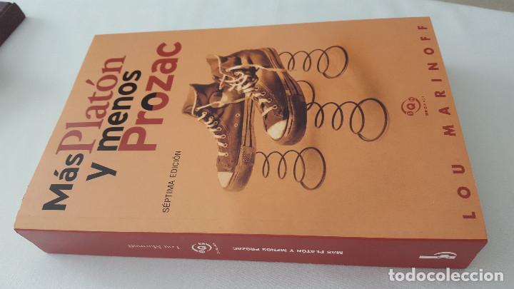 Libros de segunda mano: MÁS PLATÓN Y MENOS PROZAC. LOU MARINOFF - Foto 3 - 169360512