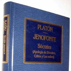 Libros de segunda mano: SOCRATES (APOLOGIA DE SOCRATES, CRITON Y LAS NUBES) - PLATON - JENOFONTE. Lote 169389076