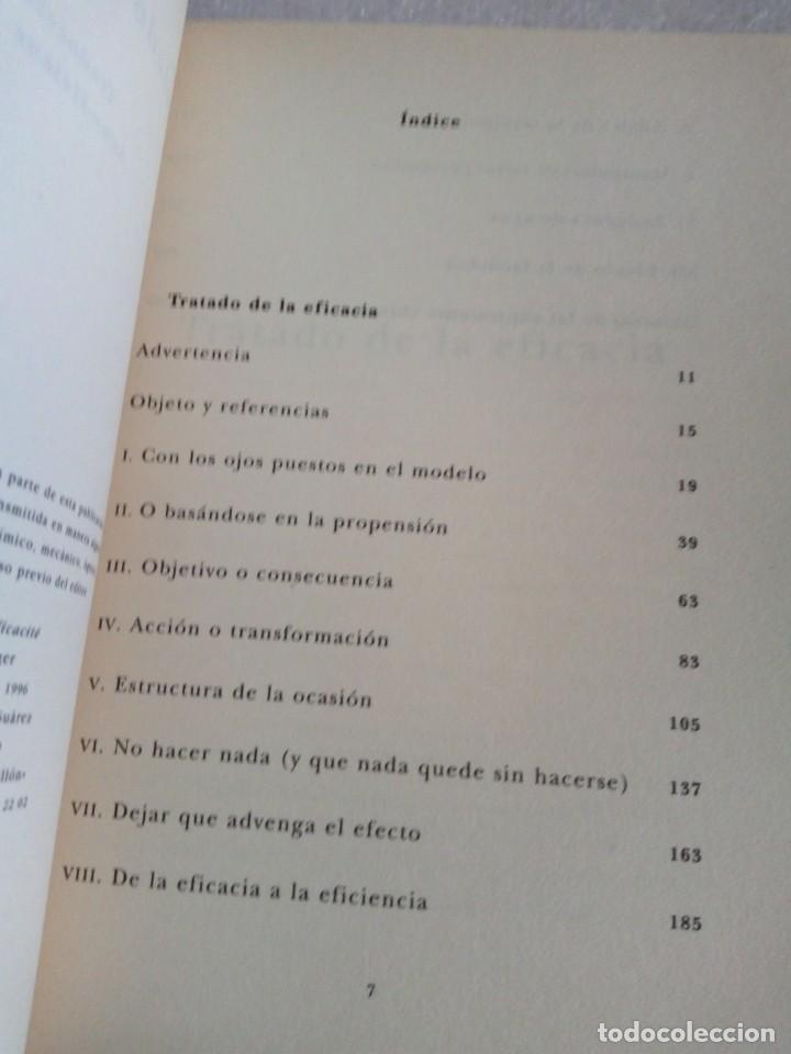 Libros de segunda mano: Tratado de la eficacia. François Jullien. Ensayo Siruela. stock libreria. - Foto 6 - 170159296