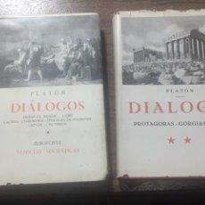 Libros de segunda mano: DIÁLOGOS PLATÓN. Lote 170198097