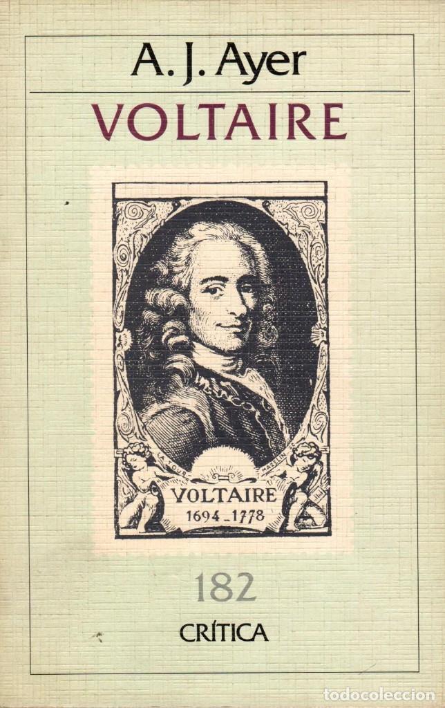 VOLTAIRE / A.J. AYER (Libros de Segunda Mano - Pensamiento - Filosofía)