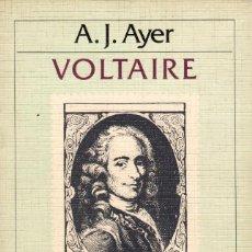 Libros de segunda mano: VOLTAIRE / A.J. AYER. Lote 170251824