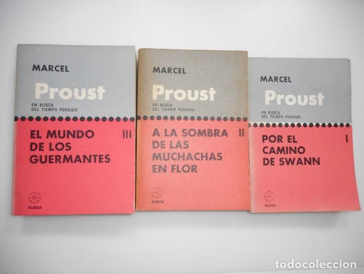 Libros de segunda mano: MARCEL PROUST En busca del tiempo perdido ( VII Tomos) Y95029 - Foto 2 - 170261876