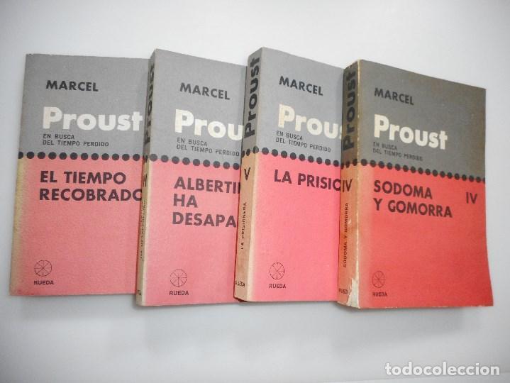 Libros de segunda mano: MARCEL PROUST En busca del tiempo perdido ( VII Tomos) Y95029 - Foto 3 - 170261876