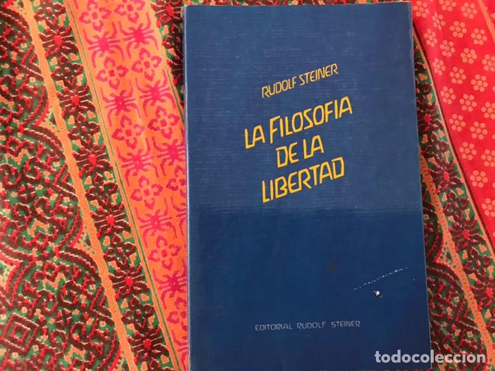 LA FILOSOFÍA DE LA LIBERTAD. RUDOLF STEINER. BUEN ESTADO (Libros de Segunda Mano - Pensamiento - Filosofía)