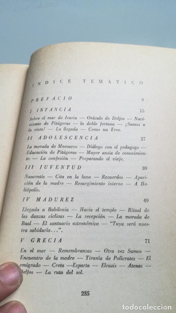 Libros de segunda mano: LA VIDA SERENA DE PITAGORAS/ Josefina Maynade./ / / CAJA 132 - Foto 10 - 170968033