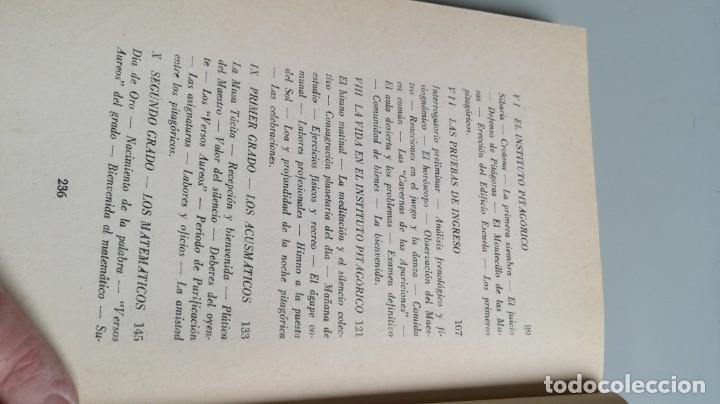 Libros de segunda mano: LA VIDA SERENA DE PITAGORAS/ Josefina Maynade./ / / CAJA 132 - Foto 11 - 170968033