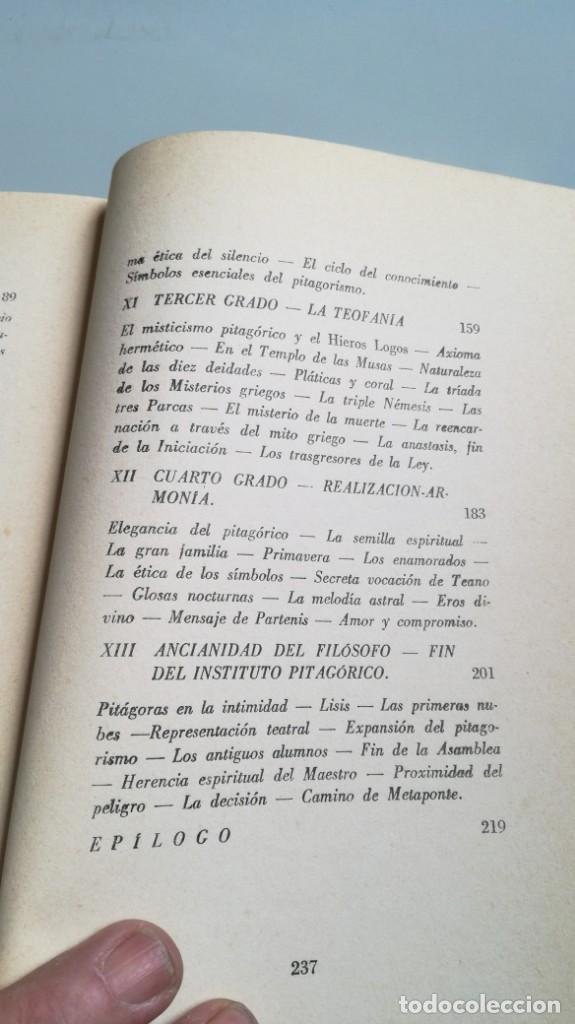Libros de segunda mano: LA VIDA SERENA DE PITAGORAS/ Josefina Maynade./ / / CAJA 132 - Foto 12 - 170968033