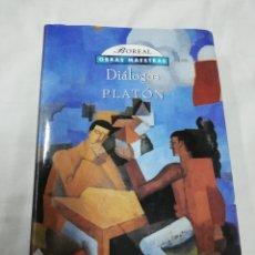 Libros de segunda mano: PLATÓN DIÁLOGOS - EDITORIAL BOREAL 1998. Lote 171192454