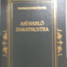 Libros de segunda mano: ASI HABLO ZARATUSTRA. FRIEDRICH NIETZSCHE. Lote 171417899