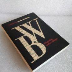 Libros de segunda mano: ARCHIVOS DE WALTER BENJAMIN. FOTOGRAFÍAS, TEXTOS Y DIBUJOS - CÍRCULO DE BELLAS ARTES - . Lote 171432989