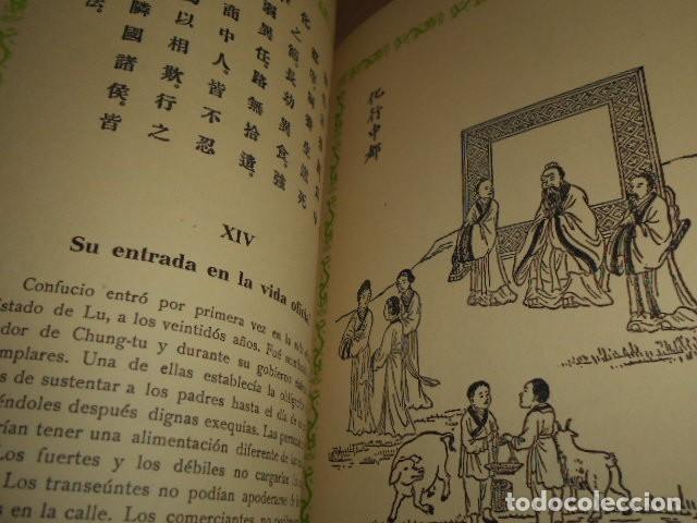 Libros de segunda mano: ESCENAS DE LA VIDA DE CONFUCIO - Foto 10 - 171619253