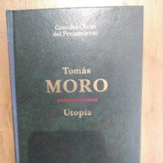 Libros de segunda mano: UTOPIA DE TOMÁS MORO, EDICIONES ATALAYA, TAPA DURA. Lote 172672699