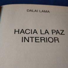 Libros de segunda mano: HACIA LA PAZ INTERIOR. Lote 172866365