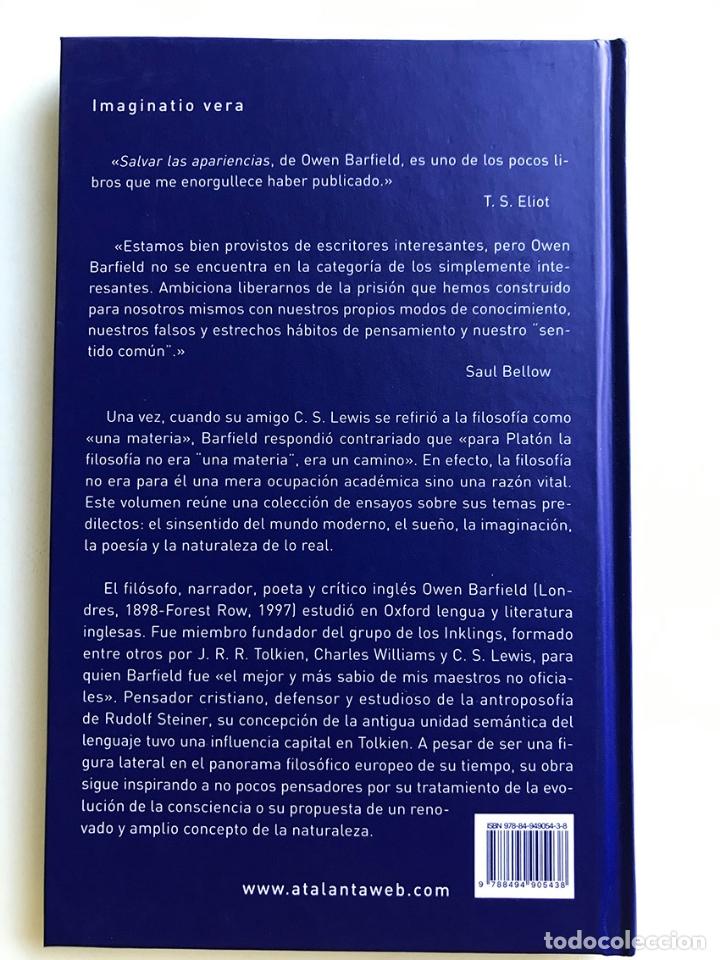 Libros de segunda mano: EL ARPA Y LA CAMARA. Owen Barfield. NUEVO - Foto 2 - 172958047