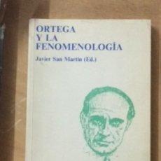 Libros de segunda mano: ORTEGA Y LA FENOMENOLOGÍA (ED.). Lote 173498054