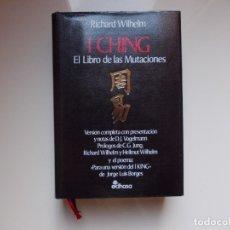 Libros de segunda mano: I CHING EL LIBRO DE LAS MUTACIONES. Lote 173658055