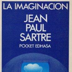 Libros de segunda mano: JEAN PAUL SARTRE, LA IMAGINACIÓN. Lote 174244547