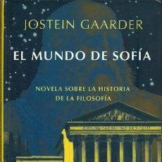 Libros de segunda mano: EL MUNDO DE SOFIA JOSTEIN GAARDER SIRUELA. Lote 175460727