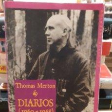 Libros de segunda mano: THOMAS MERTON DIARIOS. Lote 175476714