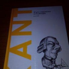 Libros de segunda mano: KANT. EL GIRO COPERNICANO EN LA FILOSOFÍA. JOAN SOLÉ. NUEVO PRECINTADO. EST12B4. Lote 175756843