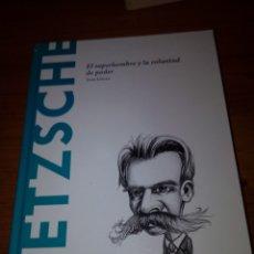 Libros de segunda mano: NIETZSCHE. EL SUPERHOMBRE Y LA VOLUNTAD DE PODER. TONI LLACER. EST12B4. Lote 175757144