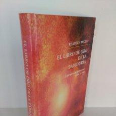 Livres d'occasion: LIBRO DE ORO DE LA SABIDURÍA. Lote 175909549