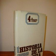 Libros de segunda mano: HISTORIA DE LA FILOSOFÍA, 4. DE DESCARTES A LEIBNIZ - FREDERICK COPLESTON - ARIEL. Lote 176290514