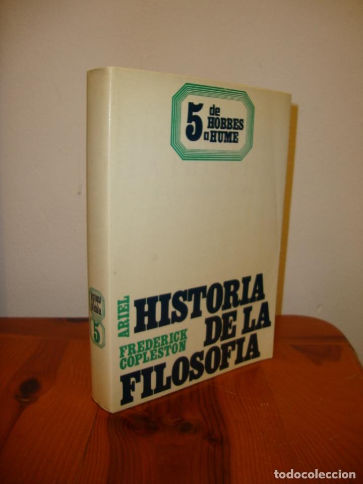 HISTORIA DE LA FILOSOFÍA, 5. DE HOBBES A HUME - FREDERICK COPLESTON - ARIEL (Libros de Segunda Mano - Pensamiento - Filosofía)