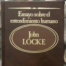 Libros de segunda mano: JOHN LOCKE . ENSAYO SOBRE EL ENTENDIMIENTO HUMANO. Lote 176412615