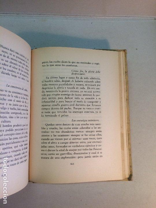 Libros de segunda mano: Juan Luis Vives: Concordia y discordia (1940) - Foto 6 - 178024462
