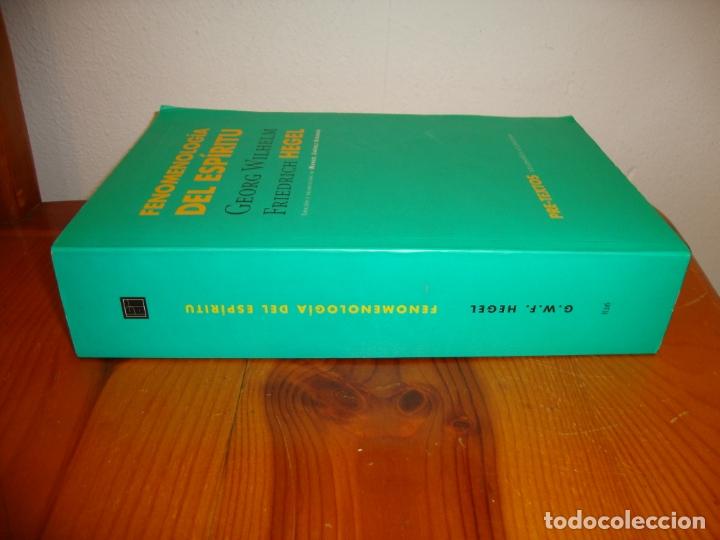 Libros de segunda mano: FENOMENOLOGÍA DEL ESPÍRITU - GEORG WILHELM FRIEDRICH HEGEL - PRE-TEXTOS, MUY BUEN ESTADO - Foto 2 - 178624606