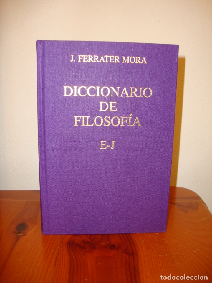 Libros de segunda mano: DICCIONARIO DE FILOSOFÍA. TOMO II,III Y IV. FERRATER MORA - CÍRCULO DE LECTORES, ENCUAD. EN TELA - Foto 4 - 178735250