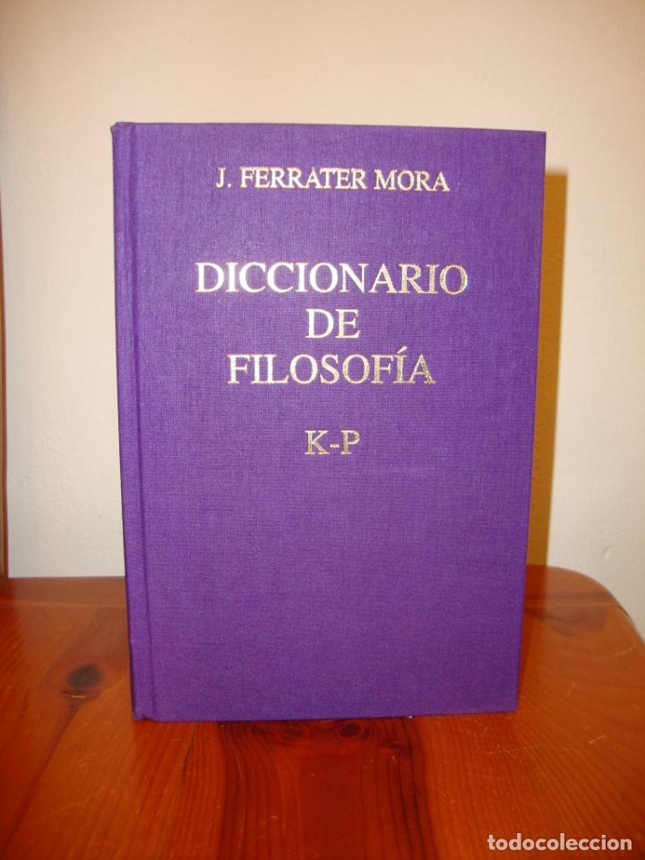 Libros de segunda mano: DICCIONARIO DE FILOSOFÍA. TOMO II,III Y IV. FERRATER MORA - CÍRCULO DE LECTORES, ENCUAD. EN TELA - Foto 5 - 178735250