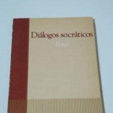 Libros de segunda mano: DIÁLOGOS SOCRÁTICOS DE PLATÓN - SALVAT EDITORES EDICIÓN DE 1985. Lote 178850851