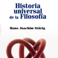 Libros de segunda mano: HISTORIA UNIVERSAL DE LA FILOSOFÍA. Lote 178872528