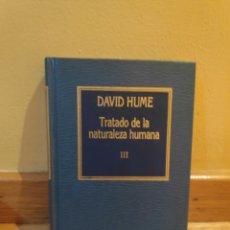Libros de segunda mano: DAVID HUME TRATADO DE LA NATURALEZA HUMANA. Lote 179204833