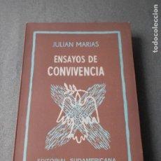 Libros de segunda mano: ENSAYOS DE CONVIVENCIA. Lote 179326702