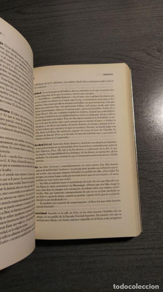 Libros de segunda mano: DICCIONARIO FILOSÓFICO André Comte-Sponville, Ediciones Paidós Ibérica. - Foto 5 - 179331588