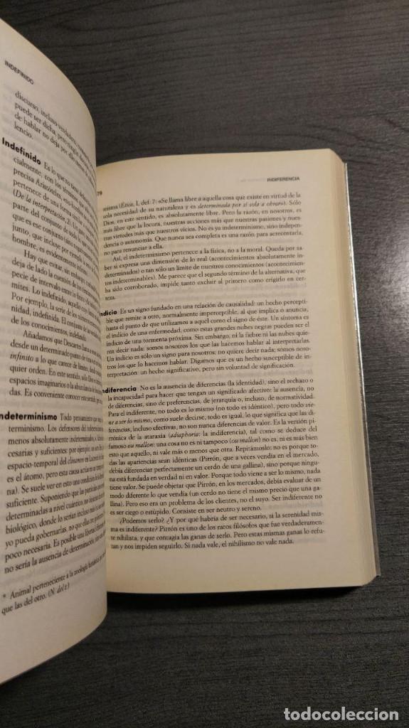 Libros de segunda mano: DICCIONARIO FILOSÓFICO André Comte-Sponville, Ediciones Paidós Ibérica. - Foto 6 - 179331588