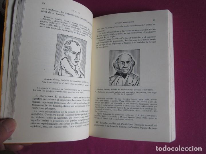 Libros de segunda mano: LOGICA E INTRODUCCION AL ESTUDIO DE LA FILOSOFIA EDICION DE 2000 EJEMPLARES - Foto 7 - 179956421